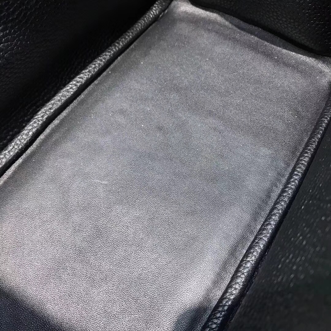 愛馬仕具有名媛風的包袋 Hermes Lindy 26CM togo cc89 Nior黑色金扣