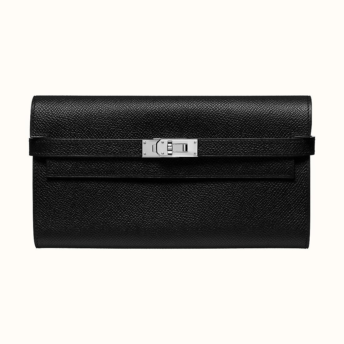 臺灣新北市愛馬仕錢包哪款好 Hermes Kelly classic wallet CK89 Epsom