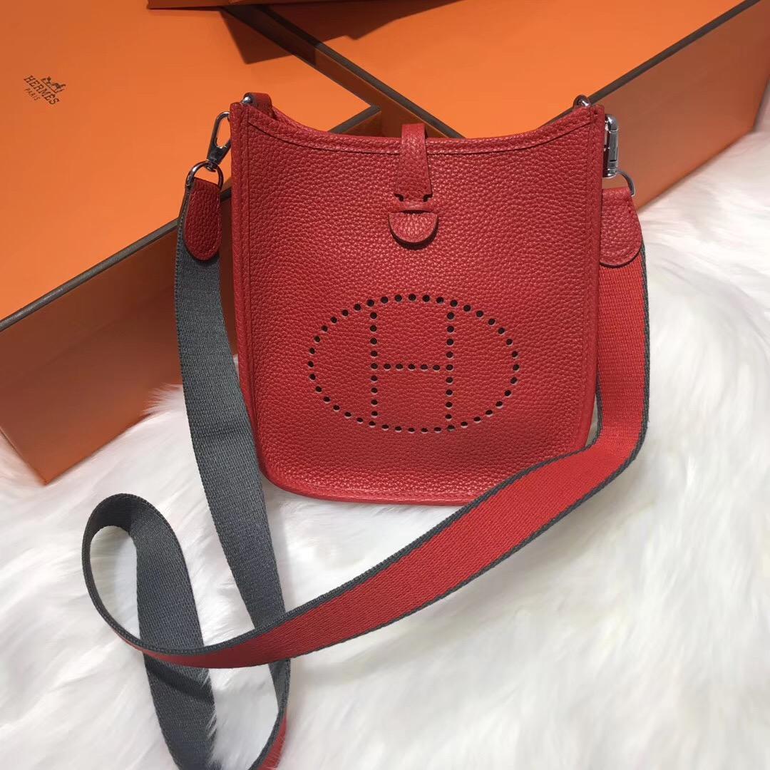 爱马仕Hermes最小资的包袋伊芙琳(Evelyne)尺寸价格大全