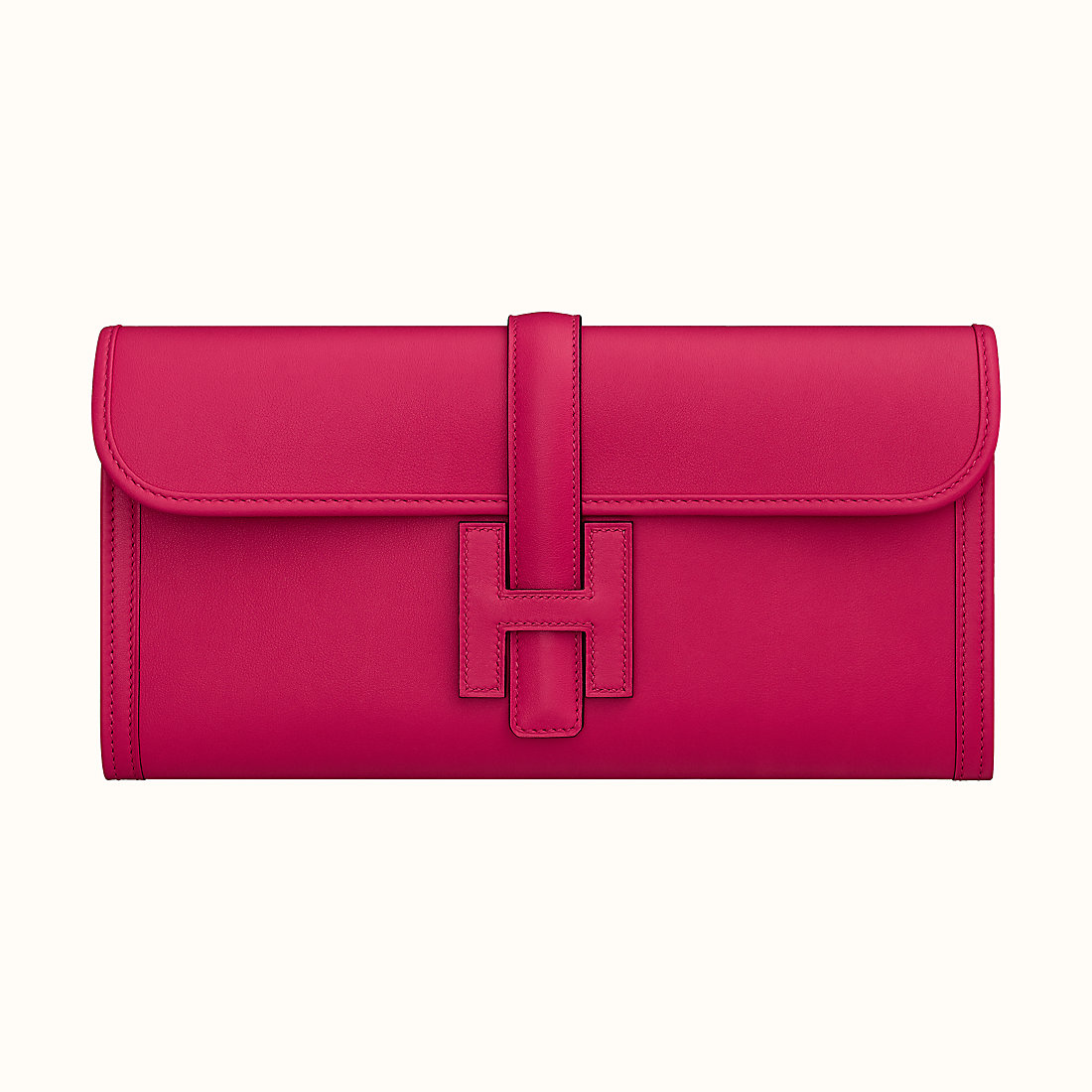 Macao Hermes Jige Elan 29 verso clutch Rose Mexico/Rouge Piment