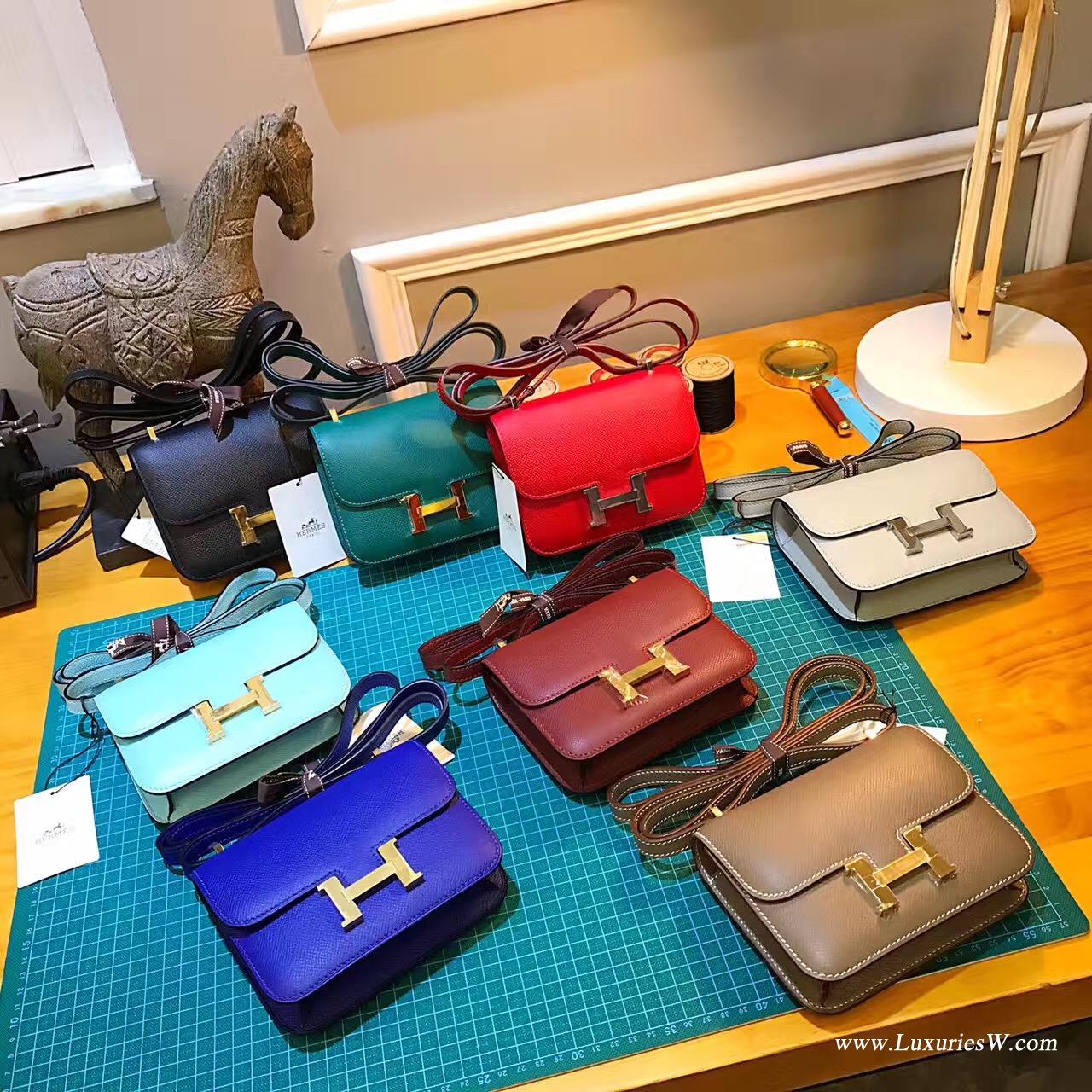 爱马仕最难买的包袋是康斯坦斯包Constance 尺寸价格大全