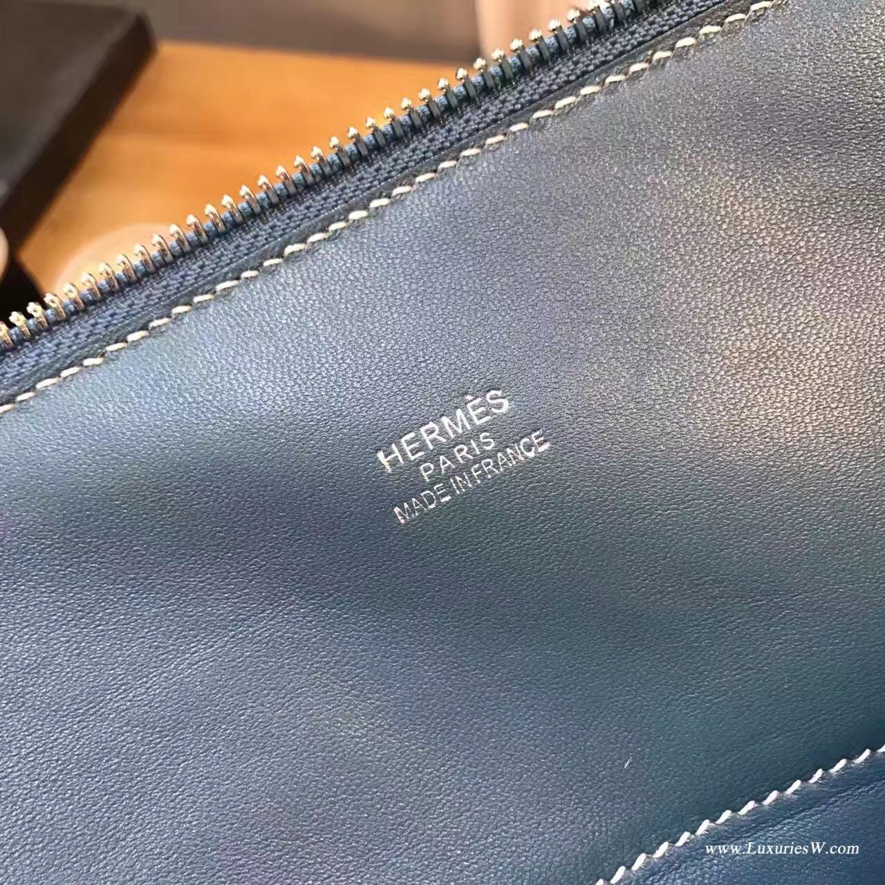 爱马仕最典雅的包袋保龄球包(Bolide)价格尺寸大全