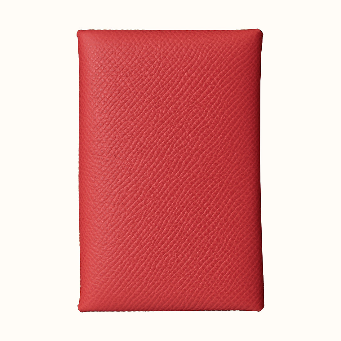澳門大堂區 愛馬仕 Hermes Calvi verso card holder Epsom CKA5 杜鹃红
