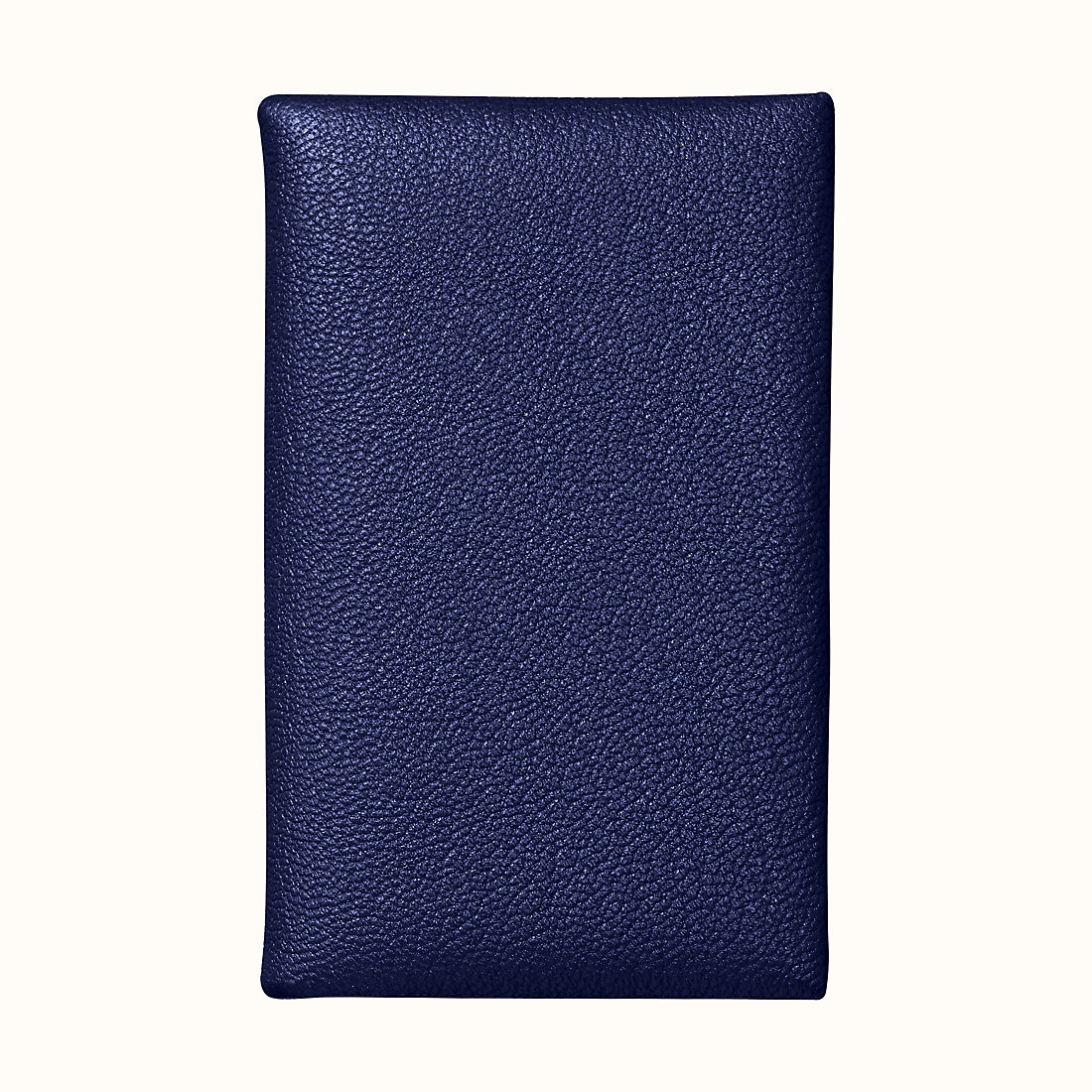 澳門愛馬仕卡包 Macao Hermes Calvi verso card holder CKM3 墨藍色