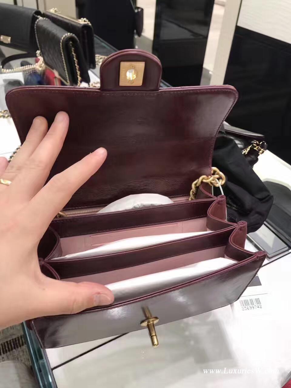 小香2017秋冬新款鏈條單肩包 高級手工坊系列 巴黎大都會風琴包