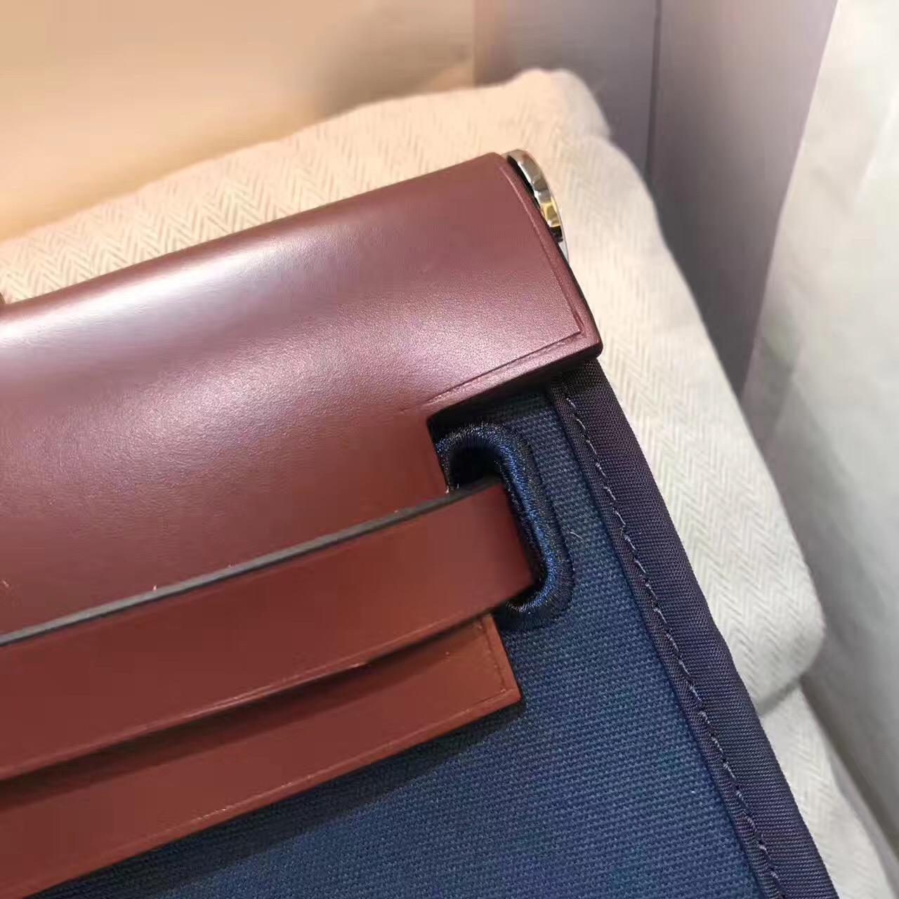 爱马仕Hermes最学院派的包袋Herbag A Do 价格尺寸大全