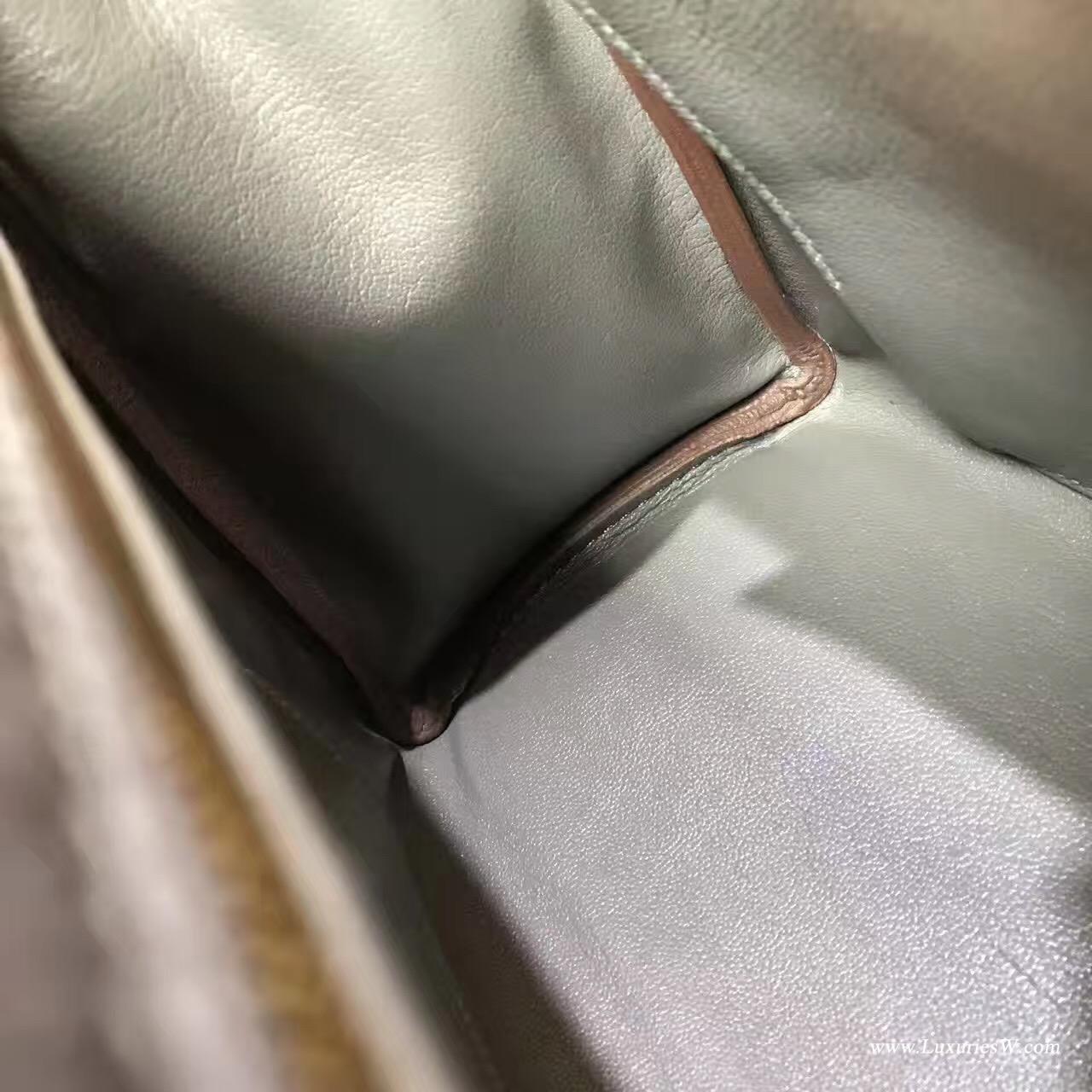 愛馬仕凱莉包 Kelly 28 togo 8F Etain錫器灰色 GHW 金扣