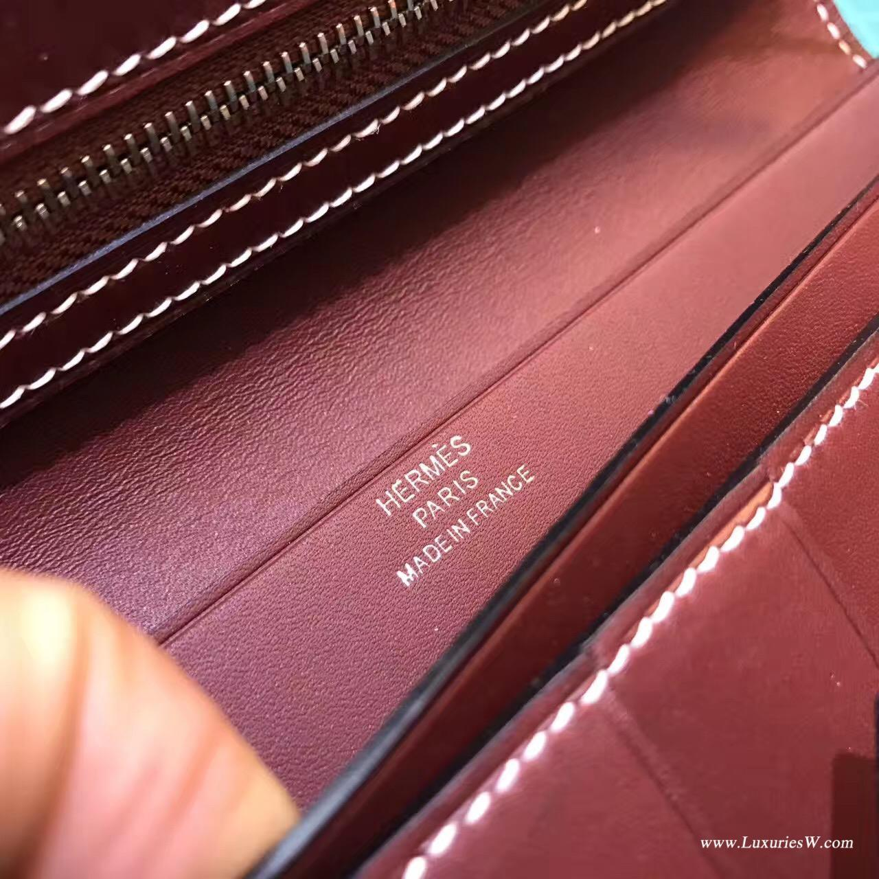 愛馬仕H扣長款錢包 Hermes Bearn Swift系列女士錢夹 Hermes Paris
