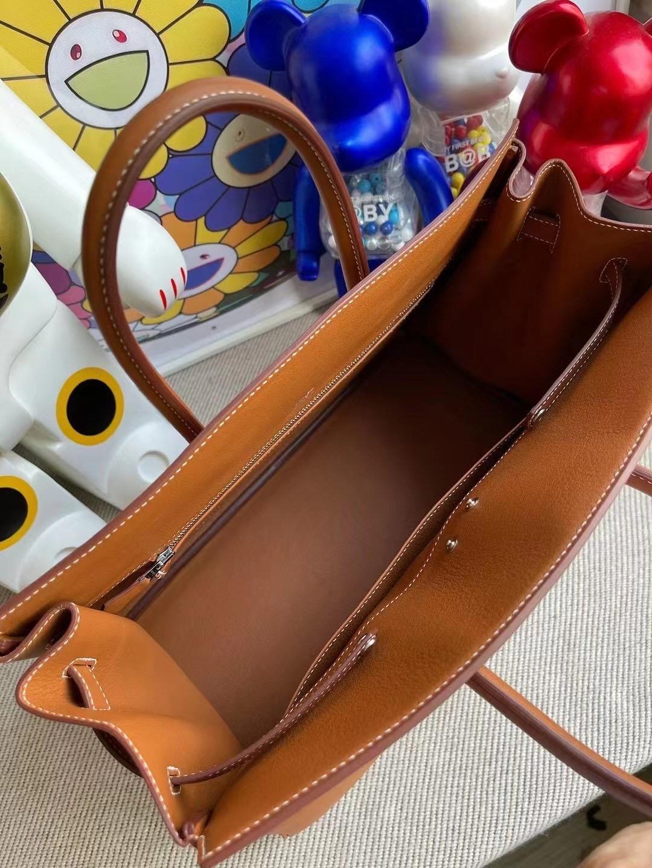 Hermes Birkin 幻影 Shadow 35cm Swift calfskin 37 Gold 金棕色 客定製出
