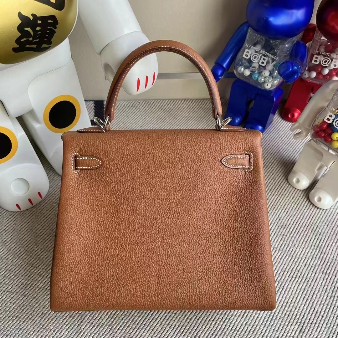 愛馬仕女包哪個顏色最經典 Hermes Kelly 25cm Togo CK37 Gold 金棕色