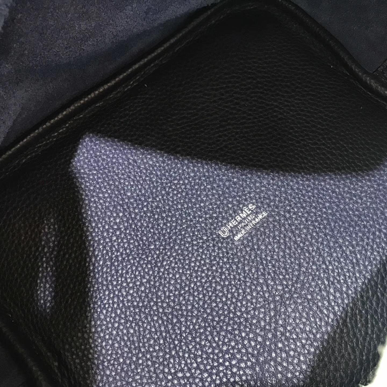 Hermes Picotin Lock 22CM 菜籃子 Z4 海鷗灰/ Blue Saphir 寶石藍色