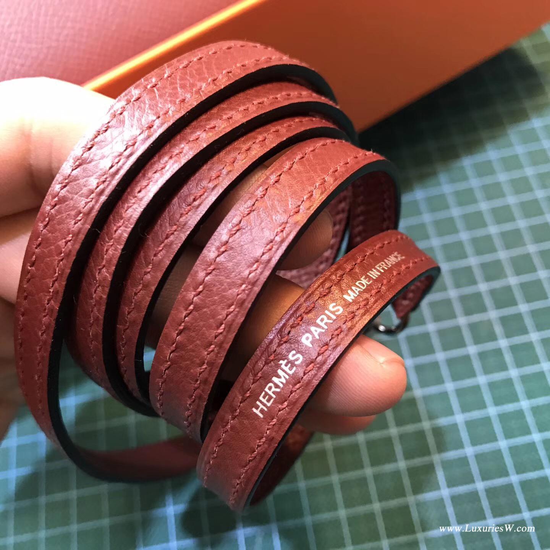 愛馬仕Hermes 凱莉包kelly 2代 Epsom CK55 Rouge 紅色系列最有代表性顏色
