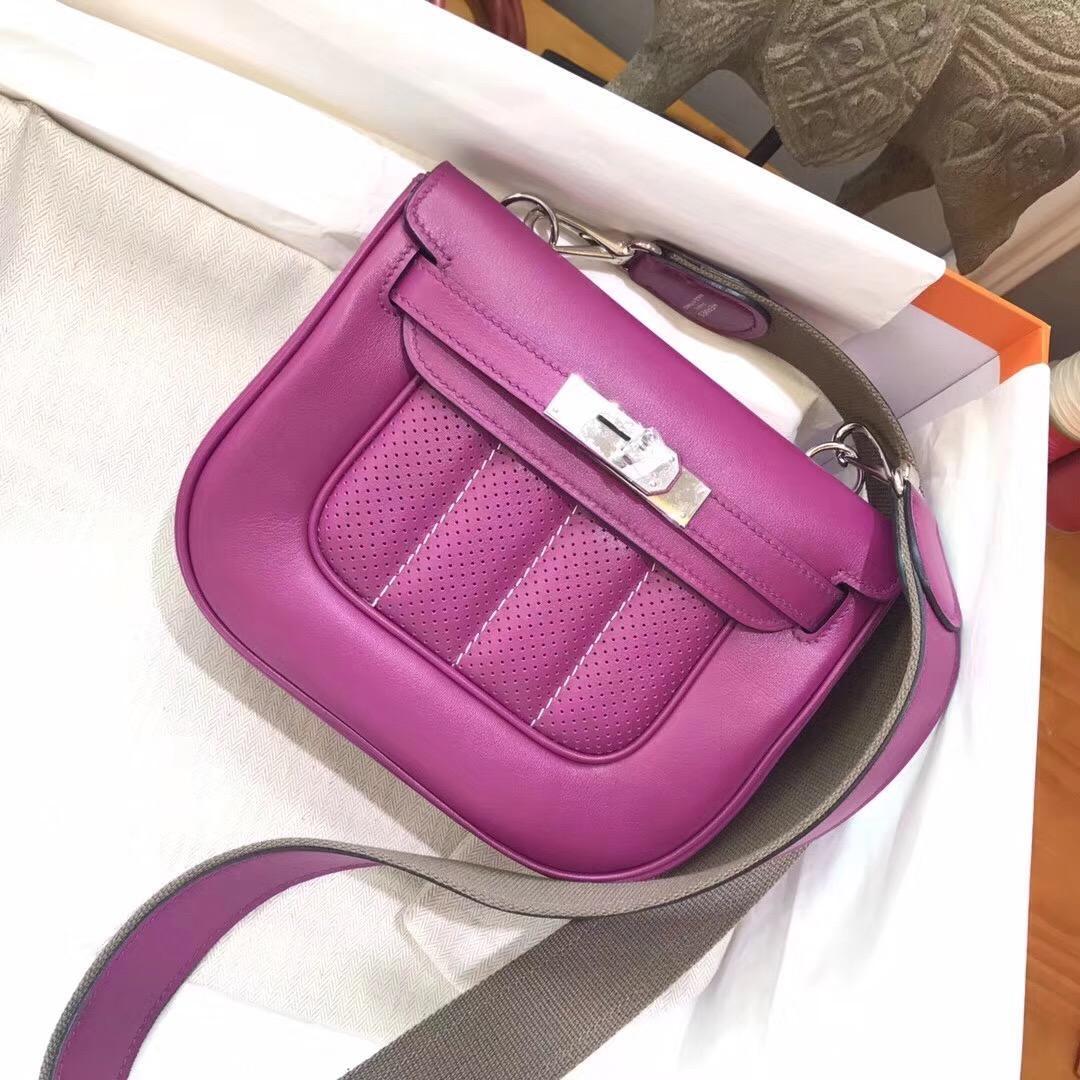 Berline 20cm Swift P9 Anemone 海葵紫銀扣 長年最歡迎的紫色