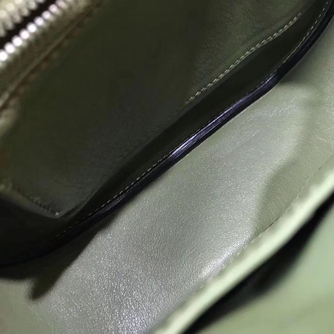 Berline 29cm Swift V6 Canopeec 叢林綠 銀扣氣質顏色 洋氣十足