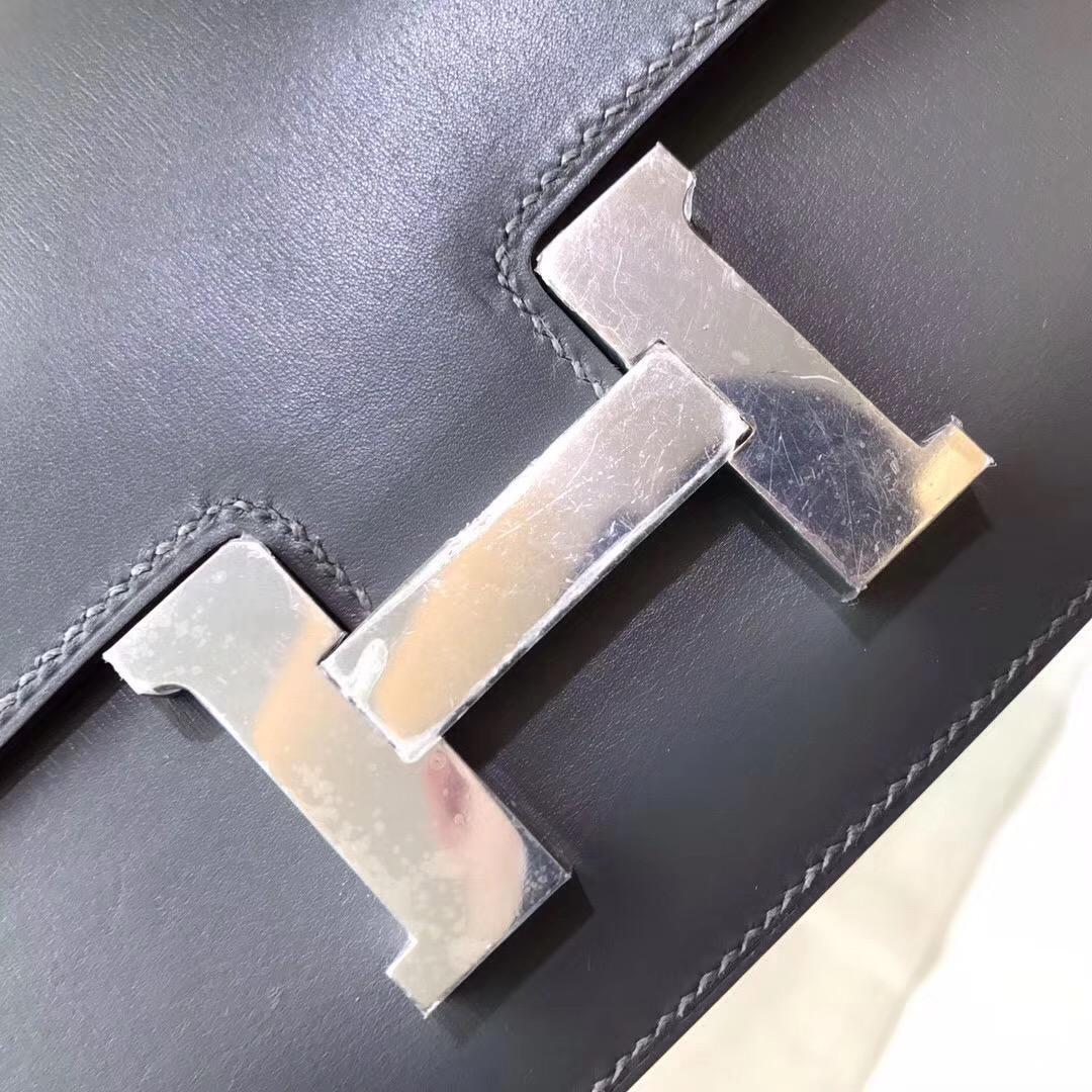 奢侈品包最難買的包袋 constance Elan 26 box 8F Etain 錫器灰銀扣