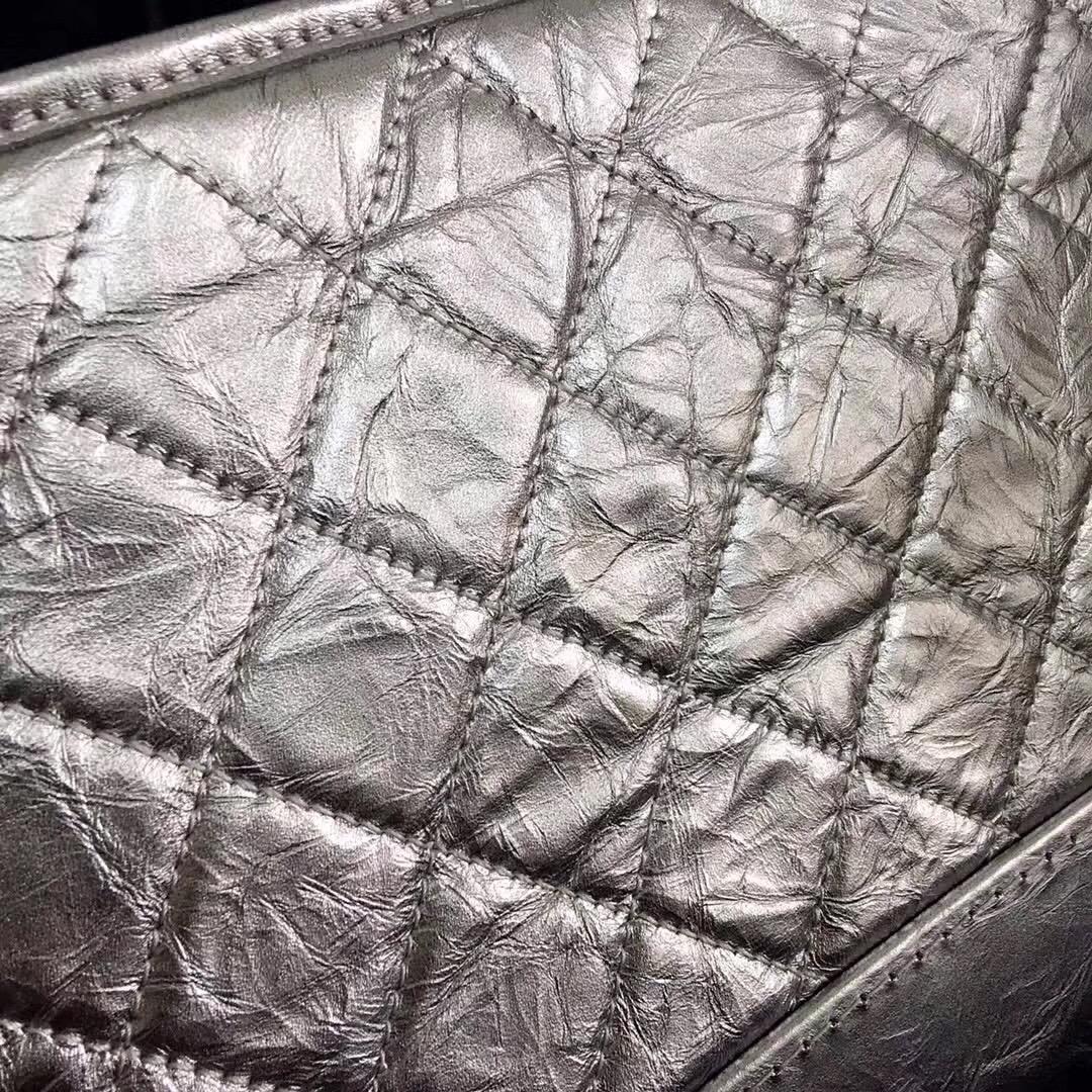 小香金屬質感折紋小牛皮gabrielle hobo bag中號流浪包