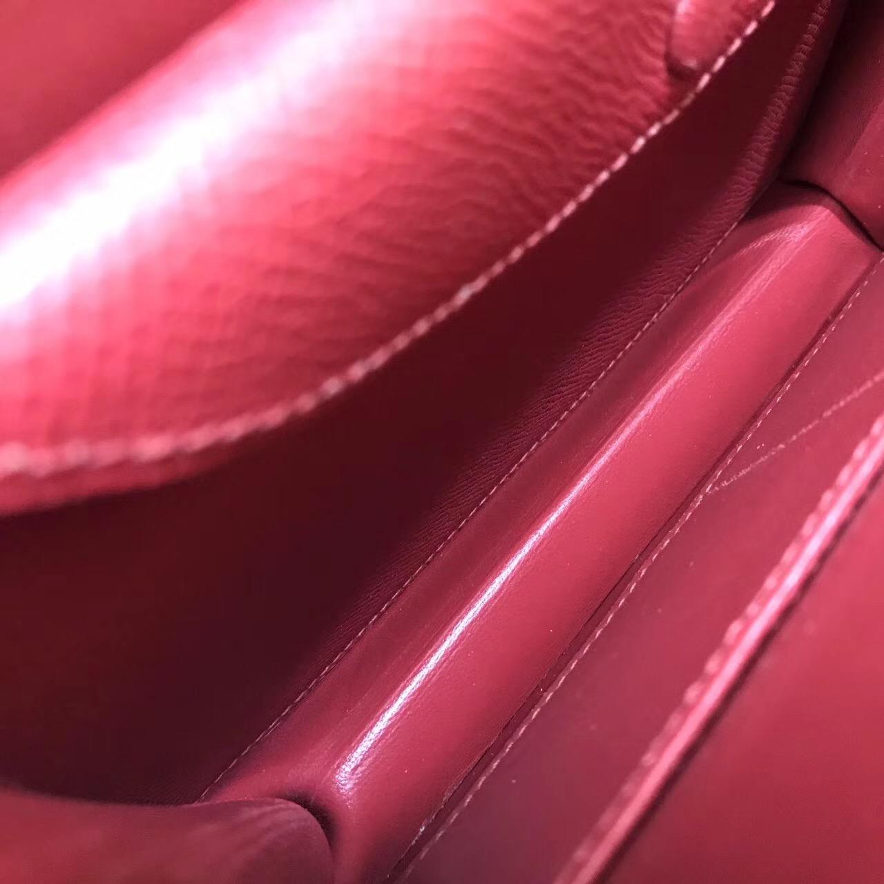Verrou 手包 又叫手槍包插銷包Epsom K1 Rouge Grenat石榴紅 最好看的紅色