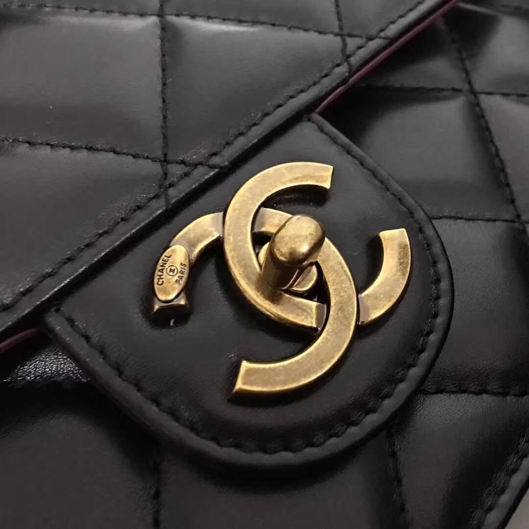 小香經典款孟買系列 Perfect Edge 黑色原廠胎牛皮女包手袋