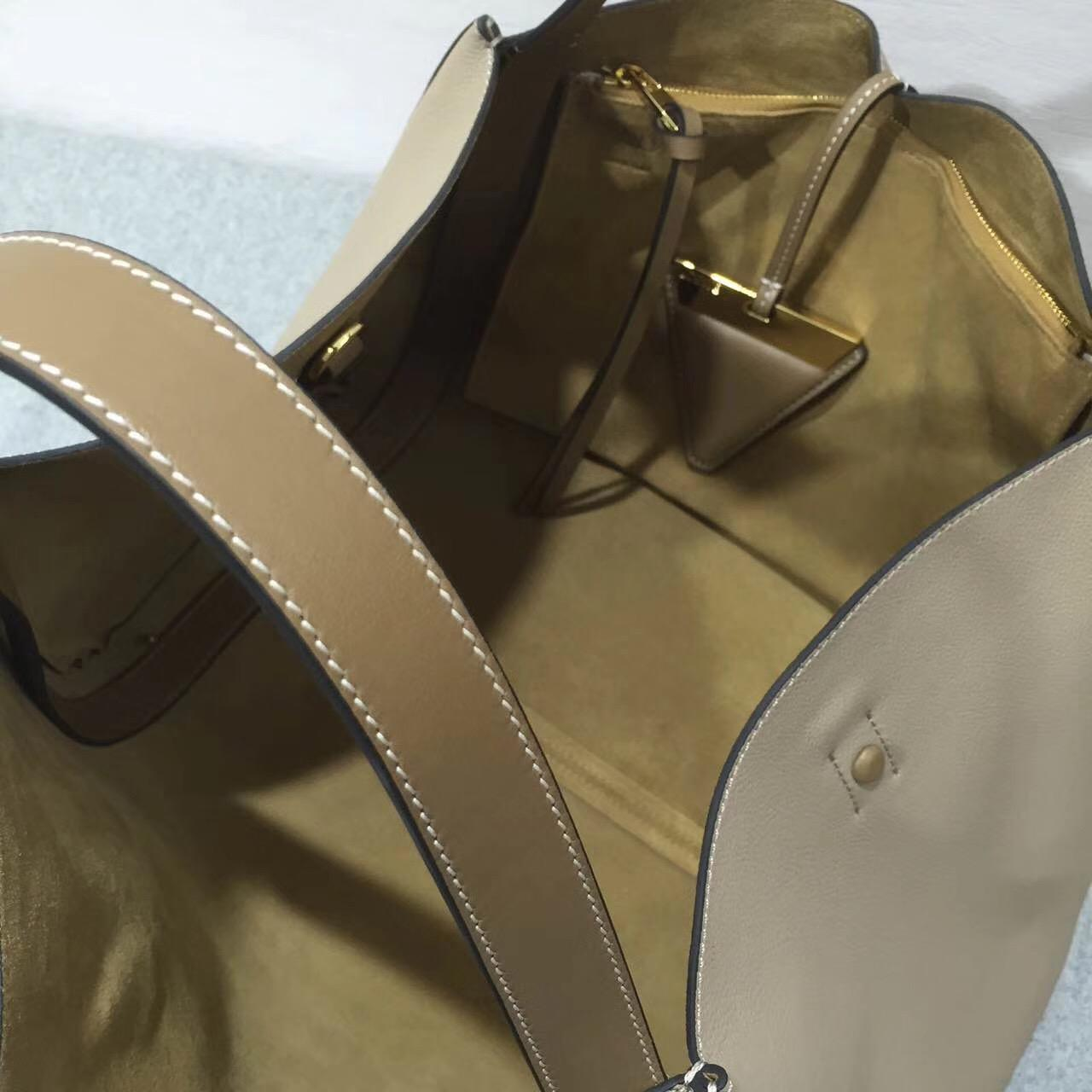 loewe羅意威巴塞羅那包 Barcelona Tote Bag 灰色日常旅行袋