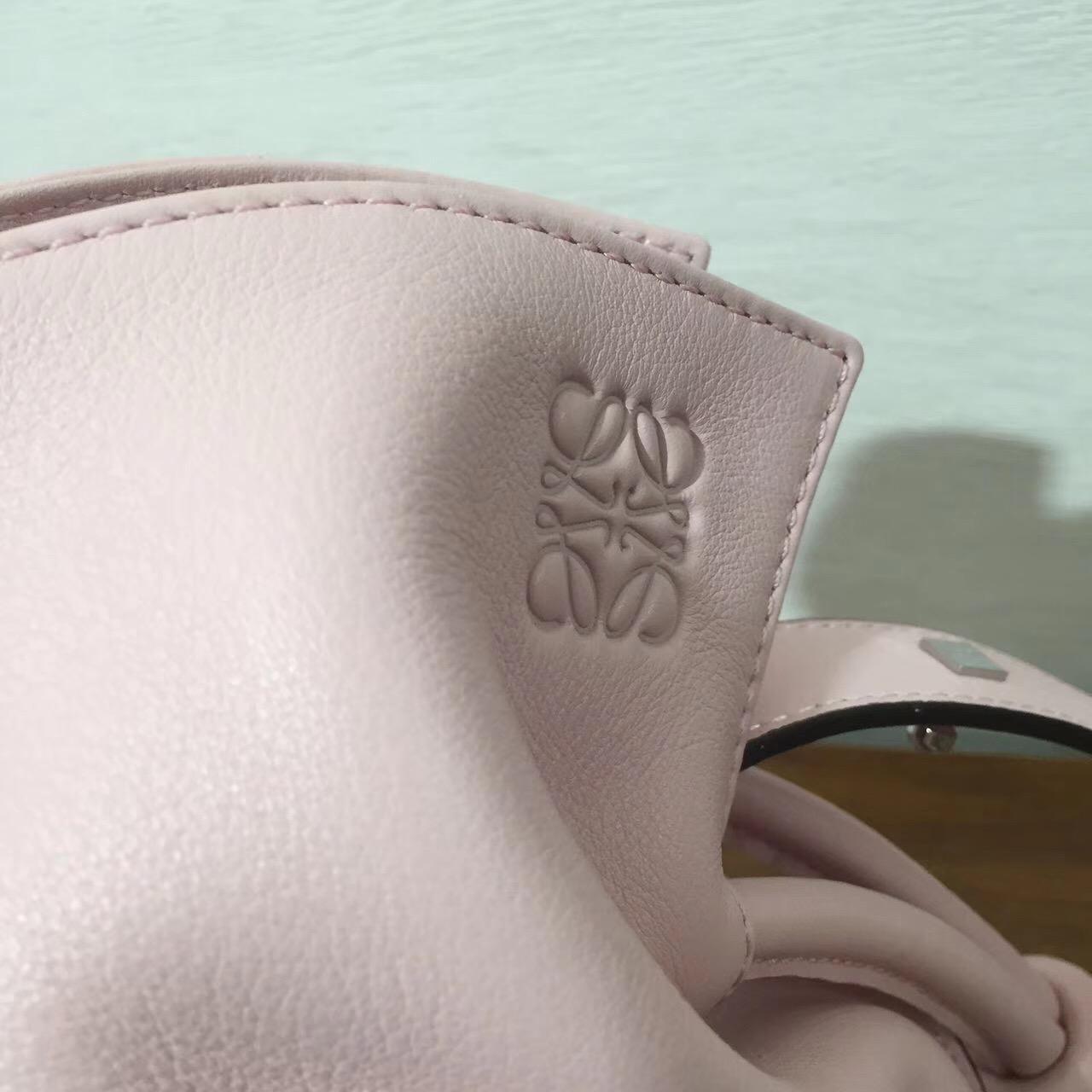 Loewe羅意威绳结手袋 Flamenco Knot Bag 粉色