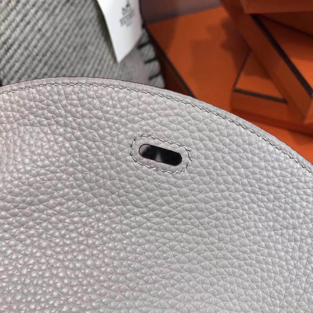 Hermes Lindy 26CM togo CK80 Pearl Grey珍珠灰PHW优雅又迷人的颜色