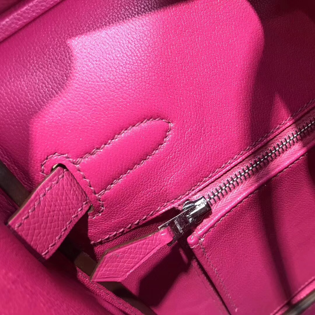 最出名的包袋鉑金包Hermes Birkin L3 epsom玫瑰紫 rose purple 30cm