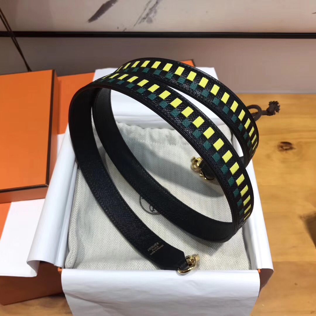 Hermes愛馬仕 2018年全新的視覺 shuolder straps肩带