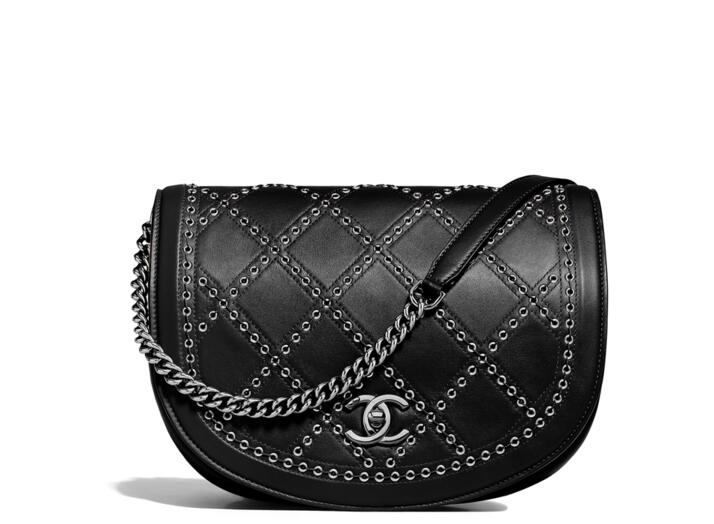 Chanel 2018春夏系列 驼色小牛皮口蓋包Flap bag