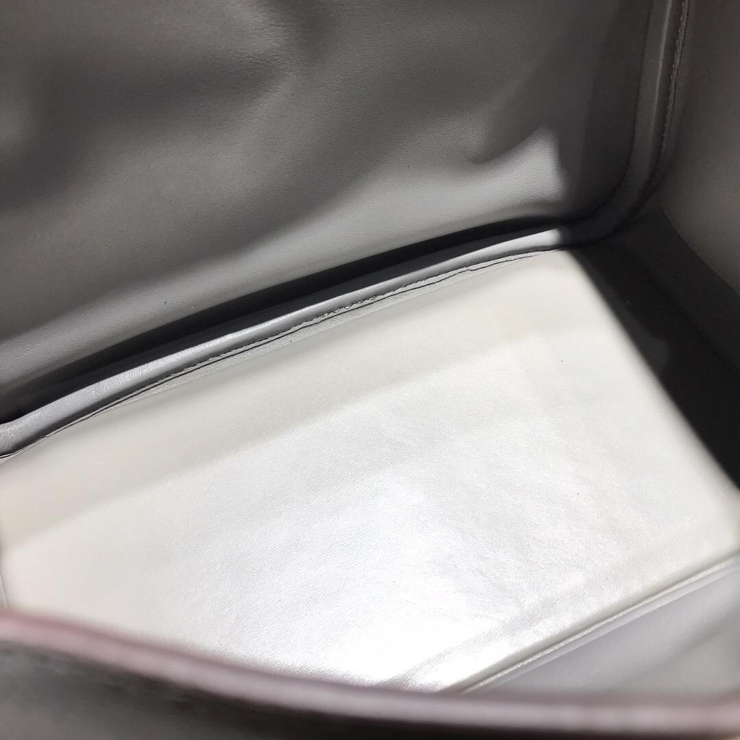愛馬仕琳迪包Hermes Lindy bag 26 Swift calfskin 8F 錫器灰銀扣