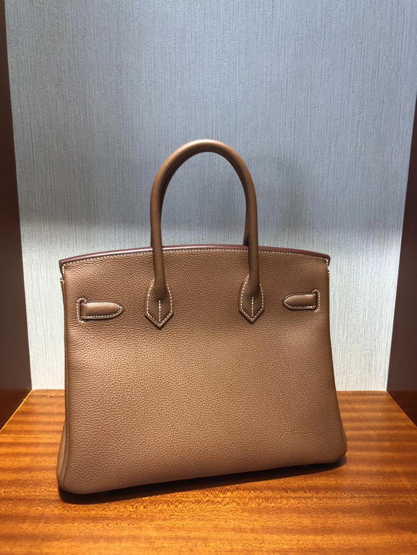 愛馬仕馬來西亞鉑金包 Hermes Birkin 30 Bag Ck37金棕色 Togo小牛皮 金扣