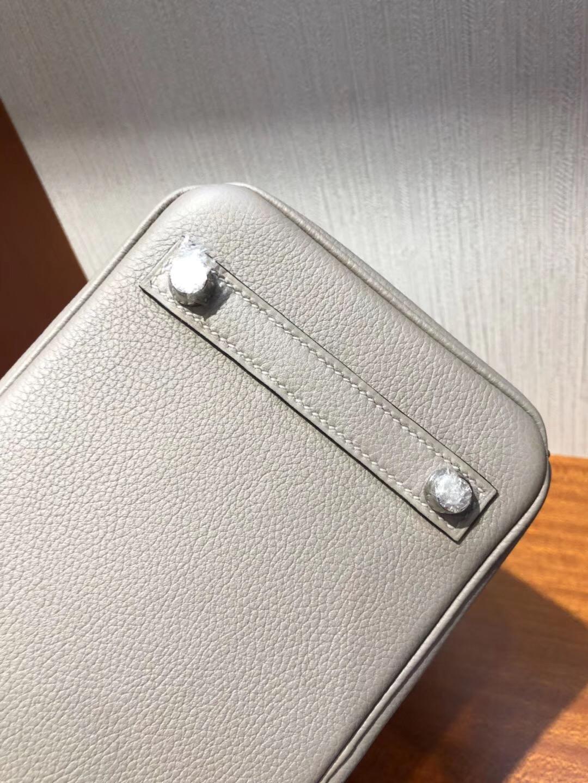澳大利亞悉尼國際機場專賣店Hermes Birkin Bag 25 Togo小牛皮 M8瀝青灰銀扣
