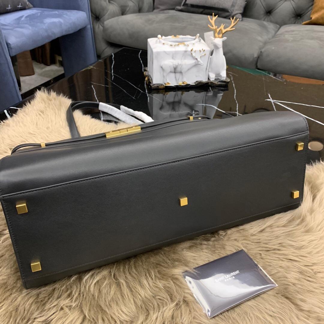 聖羅蘭女包 YSL MANHATTAN MEDIUM SHOPPING BAG IN SMOOTH LEATHER