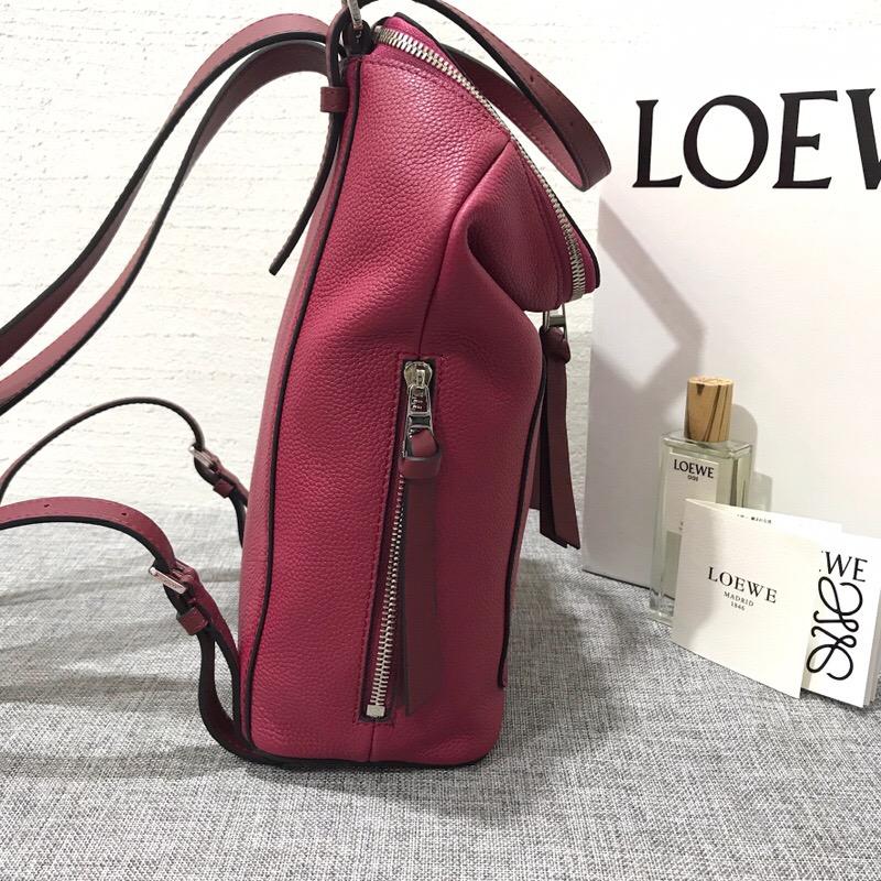 羅意威双肩背包 LOEWE Goya Small Backpack Scarlet Red/Burnt Red