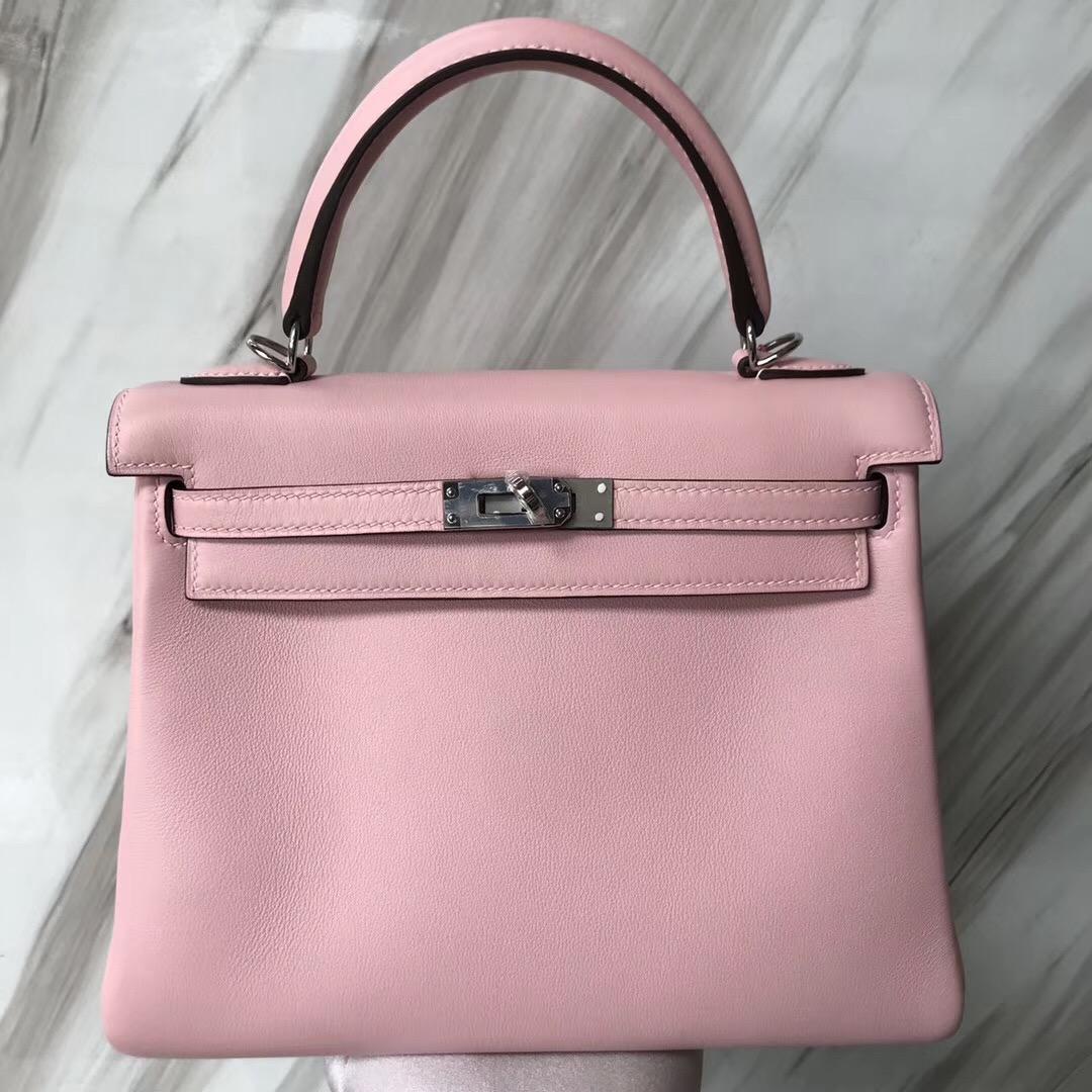 Singapore Hermès Kelly 3Q Rose Sakura 芭比粉 新粉色 Swift calfskin 皮