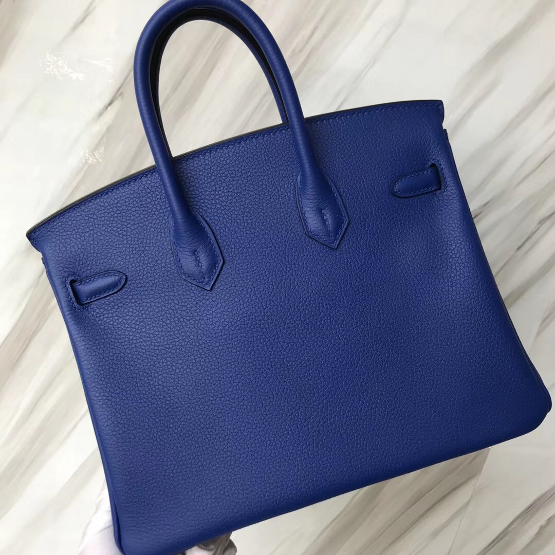 臺北愛馬仕鉑金包 Hermes Birkin 25cm Togo I7琉璃藍 Blue zellige