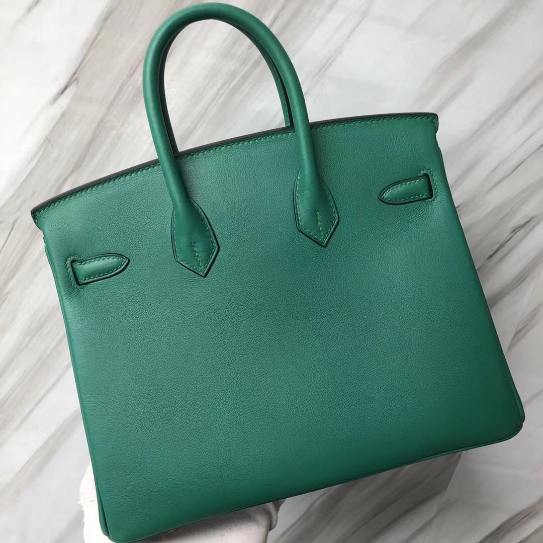 Singapore Hermès Birkin 25cm U4 絲絨綠 vert vertigo Swift calfskin
