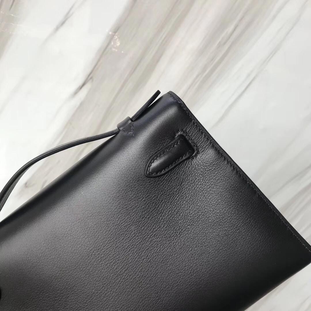 Hong Kong Hermes MiniKelly pochette CK89 Swift calfskin