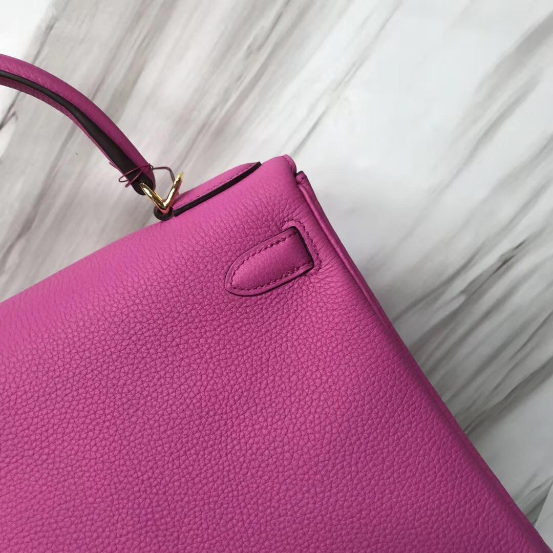 新加坡機場免稅店愛馬仕專櫃 Hermes Kelly 28cm 9I玉蘭粉Rose Magnolia