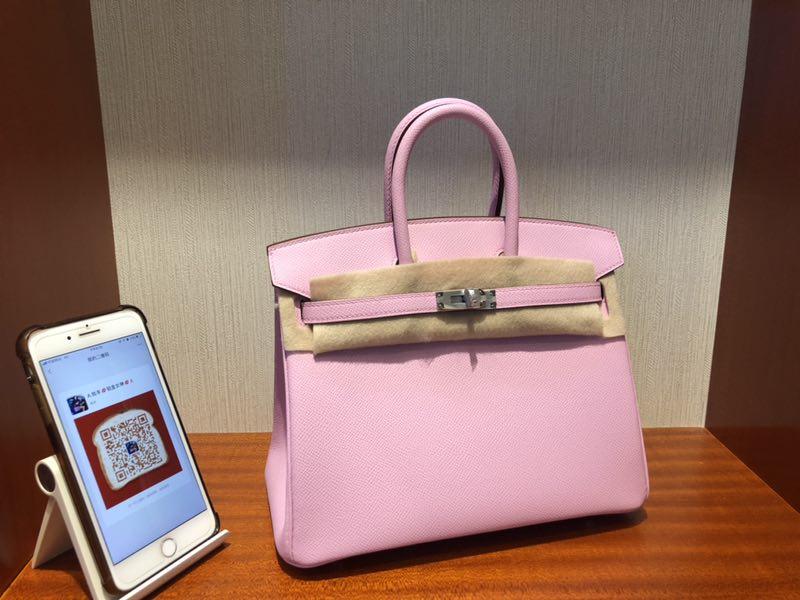 Taichung, Taiwan Hermes Birkin 25CM X9 錦葵紫 Mauve Sylvestre Epsom牛皮