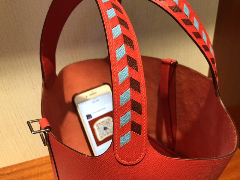香港愛馬仕菜籃子官網價格 Hermes Picotin Lock 18cm S3 心紅色 Rose de Coeur