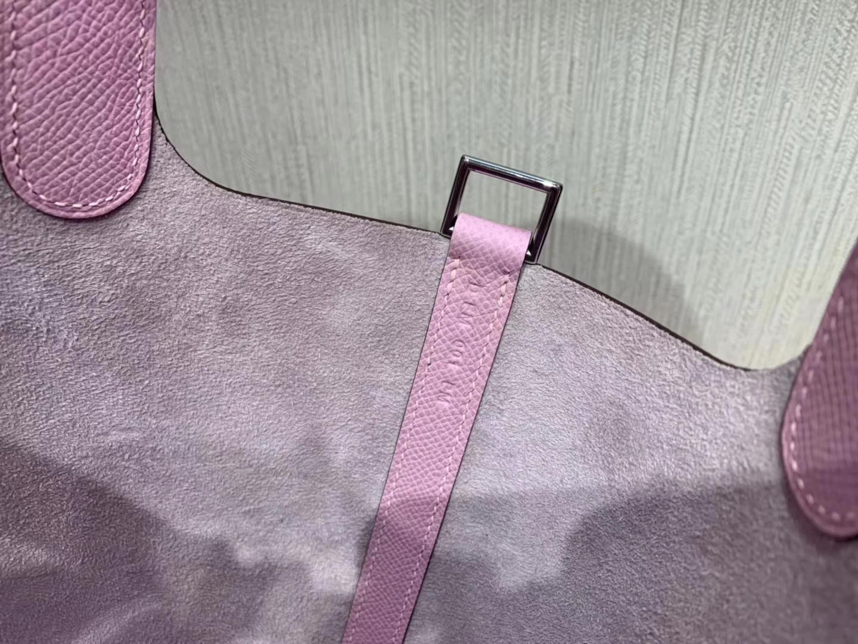 愛馬仕菜籃子包香港價格 Hermes Picotin Lock 18cm X9 錦葵紫 Mauve Sylvestre