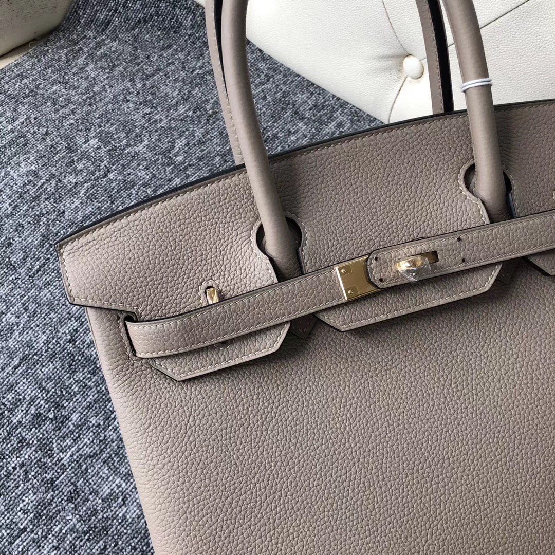 澳大利亞愛馬仕專賣店 Australia Hermes Birkin 30cm M8瀝青灰 Gris Asphalte