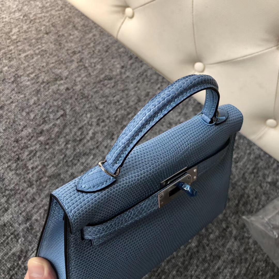 澳大利亞愛馬仕迷妳凱莉包價格 Australia Hermes MiniKelly 二代 7N糖果藍