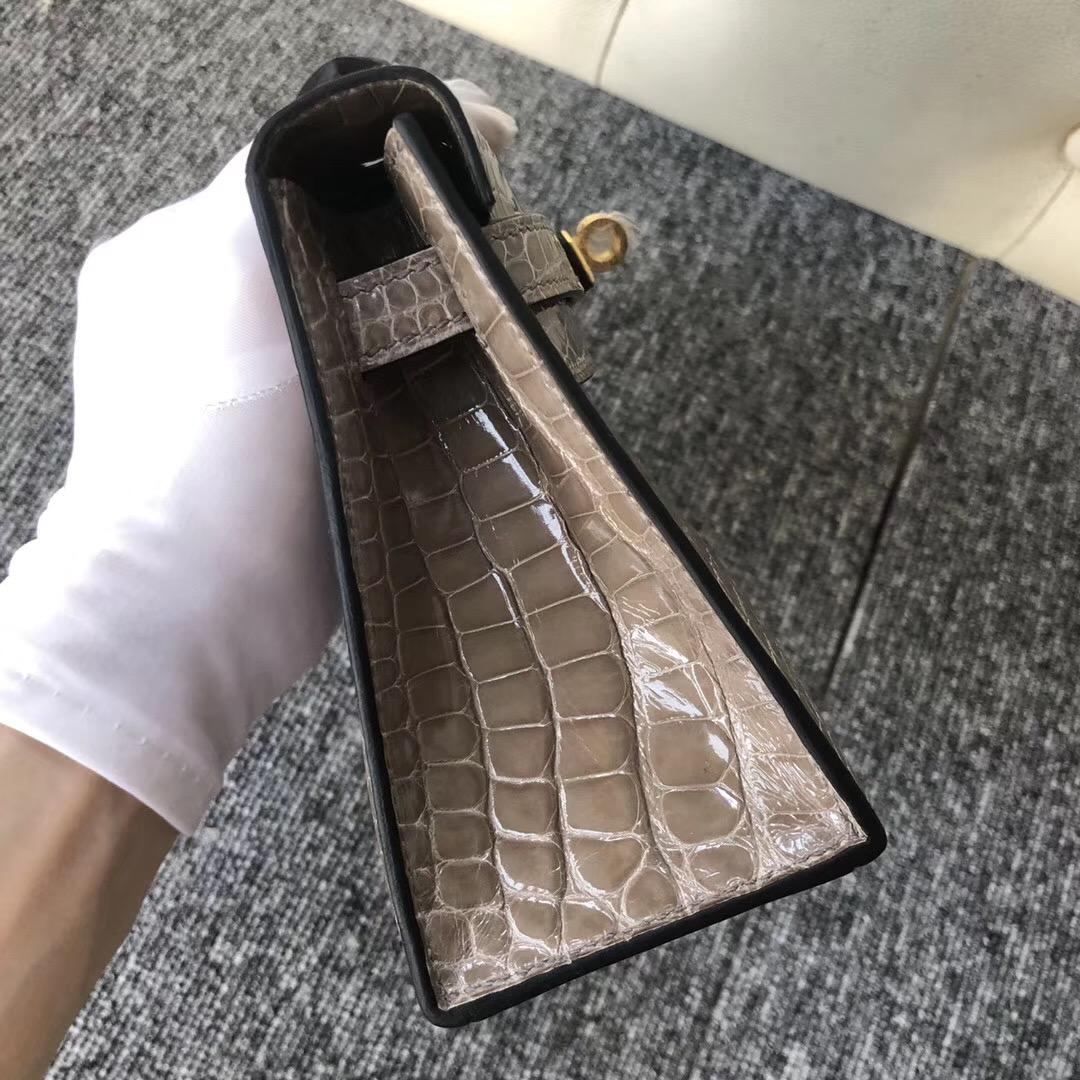 澳洲Hermes價錢 Australia Hermès MiniKelly pochette CK81 Gris Tourterelle