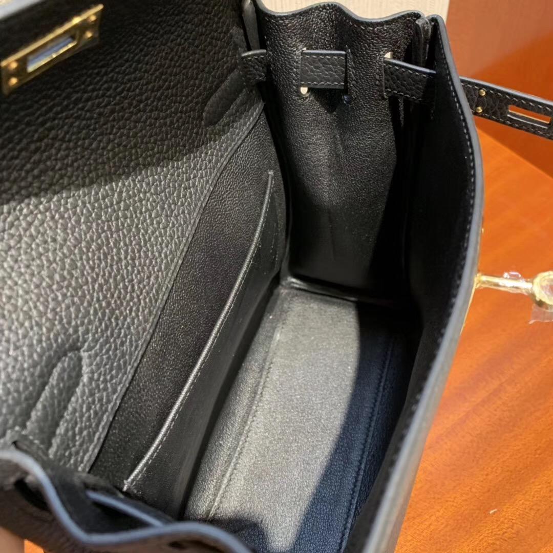 Hong Kong Hermes Kelly ado Backpack CK89 taurillon Clemence 皮