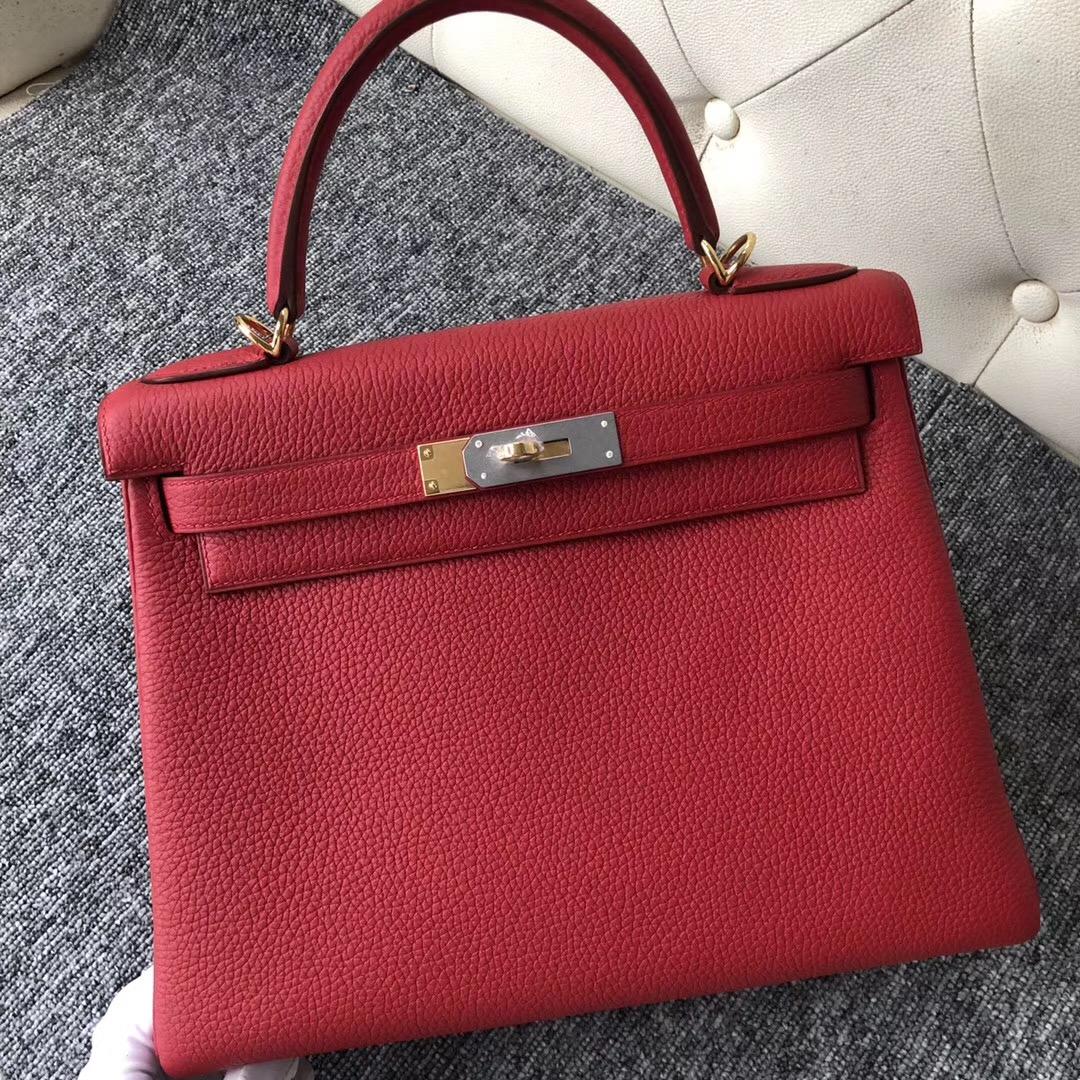 臺北桃園機場愛馬仕包包價格 Hermes Kelly 28cm Q5國旗紅 Rouge casaque