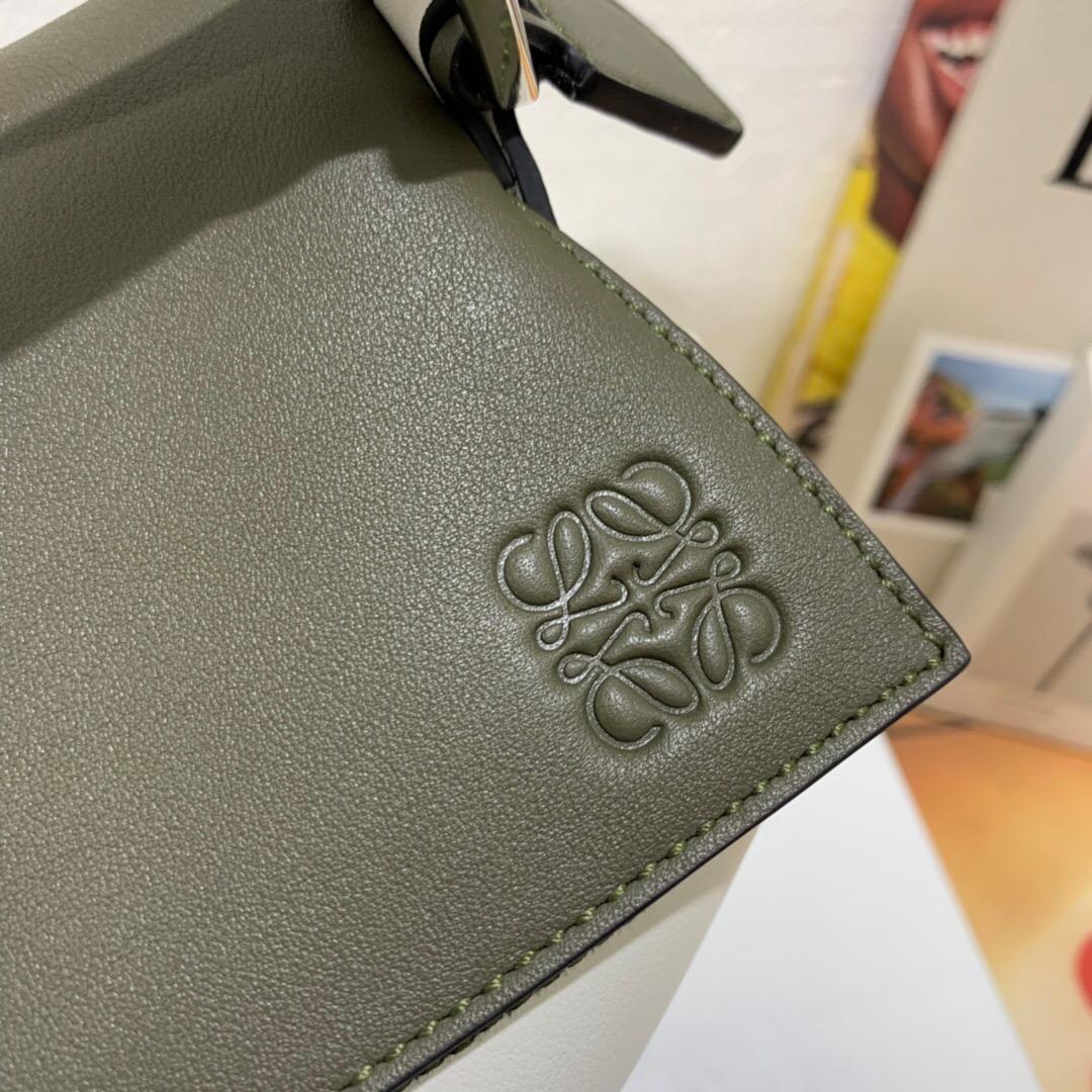羅意威puzzle中號小號尺寸對比 LOEWE Puzzle Small Bag