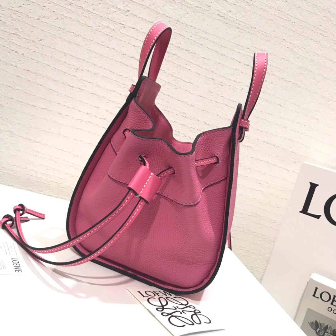 香港羅意威吊床包 Hammock Drawstring Mini Bag Wild Rose