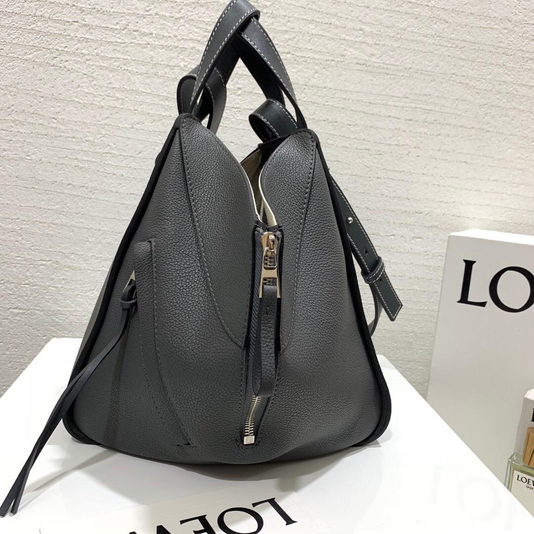 臺灣臺北市羅意威吊床包價格 Loewe Hammock Hammock Small Bag 铁灰色