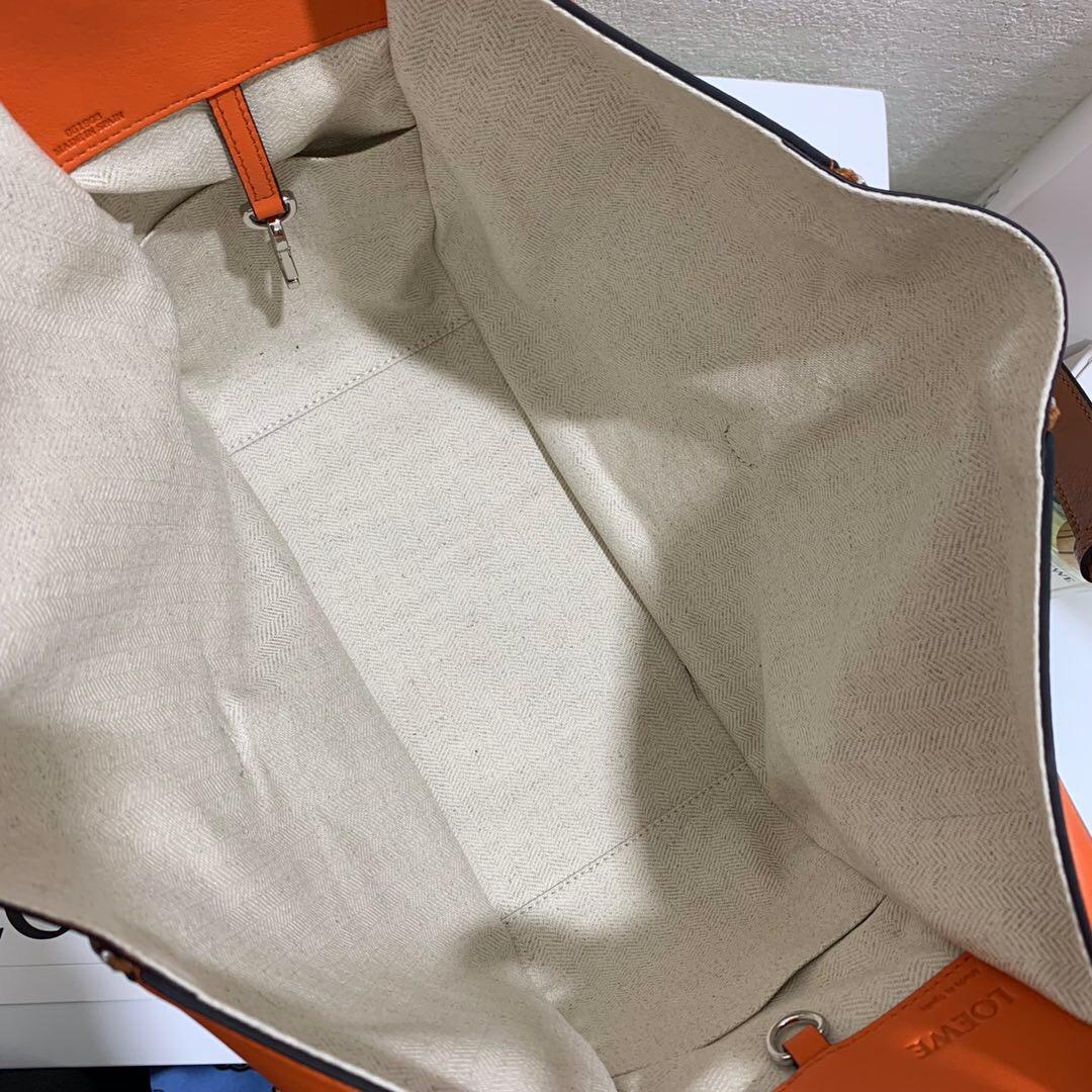 香港九龍城區羅意威官網 Hammock Whipstitch Small Bag Tan/Orange